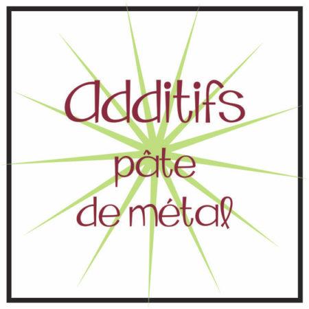 Additif pâtes de métal