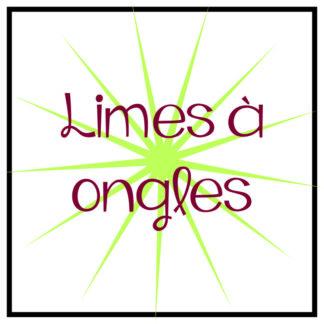 Limes à ongles