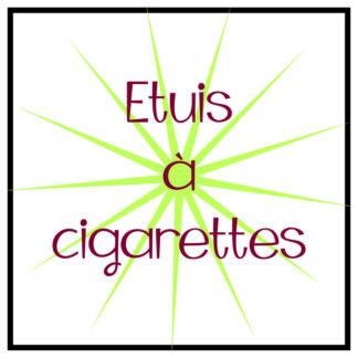Etuis à cigarettes