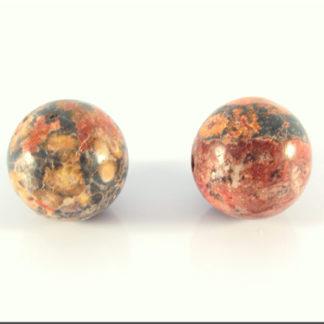 Leopard stone perle